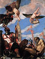 Mars and Neptune, 1578, veronese