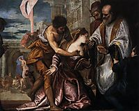 The Martyrdom and Last Communion of Saint Lucy, 1582, veronese