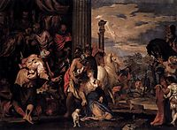 Martyrdom of St Justina, 1556, veronese
