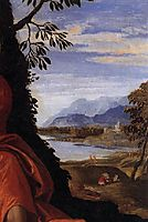Mystic Marriage of St Catherine (detail), 1547, veronese
