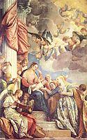 Mystic Marriage of St Catherine, veronese