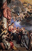 Mystical Marriage of St Catherine, c. 1575, veronese