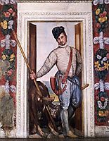 Nobleman in Hunting Attire, 1560-61, veronese
