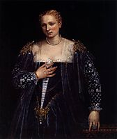 Portrait of a Venetian Woman (La Belle Nani), c. 1560, veronese