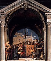 Presentation in the Temple, 1560, veronese