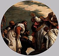 St Nicholas Named Bishop of Myra, 1580-82, veronese