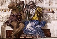 Saturn (Time) and Historia, 1560-61, veronese