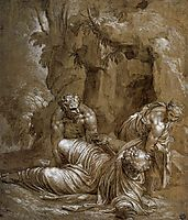Temptation of St. Anthony, 1552, veronese