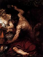 Temptation of St Anthony, 1552-53, veronese