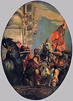 The Triumph of Mordecai, 1556, veronese