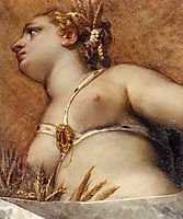 Venice, Hercules, and Ceres (detail), 1575, veronese