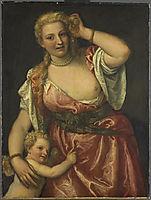 Venus and Amor, 1575, veronese