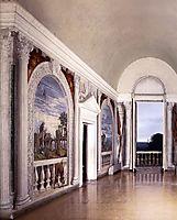 View of the Sala a Crociera, 1560-61, veronese