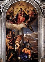 Virgin and Child with Saints, 1565, veronese