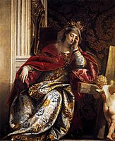 The Vision of St Helena, c. 1580, veronese