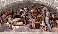 Vulcan and Venus, 1560-61, veronese