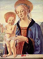 Madonna and Child, c.1475, verrocchio