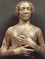 Portrait of a Woman, c.1480, verrocchio