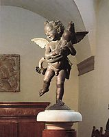 Putto with Dolphin, c.1470, verrocchio