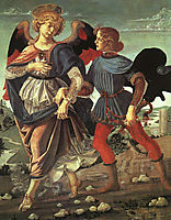 Tobias and the Angel, c.1480, verrocchio