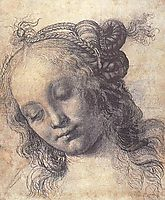 Woman Looking Down, verrocchio