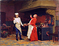 The Marvelous Sauce, c.1890, vibert