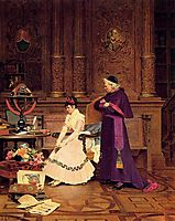 The Reprimand, vibert