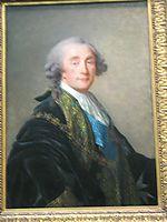 Alexandre Charles Emmanuel de Crussol Florensac, 1787, vigeelebrun