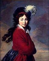 The Grand Duchesse Anna Feodorovna, 1796, vigeelebrun