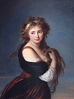 Hyacinthe-Gabrielle Roland, 1791, vigeelebrun