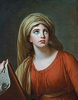 Lady Hamilton as the Persian Sibyl, 1792, vigeelebrun