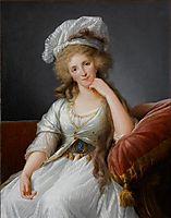 Louise Marie Adélaïde de Bourbon-Penthièvre, c.1787, vigeelebrun
