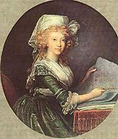 Maria Luisa of Spain, wife of Emperor Leopold II, vigeelebrun