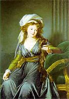 Portrait of Countess Catherine Skavronskaya, vigeelebrun