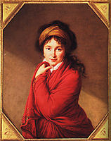 Portrait of Countess Golovine, c.1800, vigeelebrun