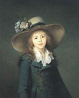 Portrait of Elisaveta Alexandrovna Demidova, nee Stroganova, 1792, vigeelebrun
