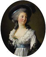 Portrait of Izabela Lubomirska , 1782, vigeelebrun