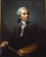 Portrait of Joseph Vernet , 1778, vigeelebrun