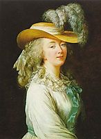 Portrait of Madame du Barry, 1781, vigeelebrun