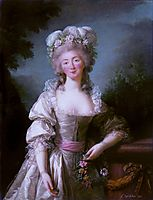 Portrait of Madame du Barry , 1782, vigeelebrun