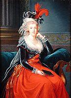 Portrait of Maria Carolina of Austria , 1791, vigeelebrun
