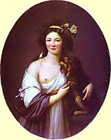 Portrait of Mme D-Aguesseau, c.1770, vigeelebrun