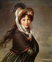 Portrait of a Young Woman, c.1797, vigeelebrun