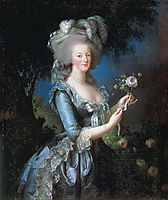 Queen Marie Antoinette of France, 1783, vigeelebrun