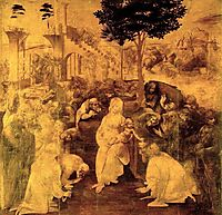 The Adoration of the Magi, 1480, vinci