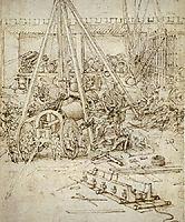 An Artillery Park.jpg, 1487, vinci