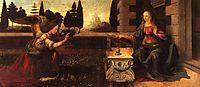 Annunciation, 1472-1475, vinci