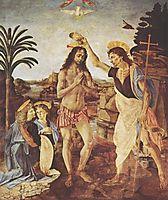 The Baptism of Christ, 1472-1475, vinci