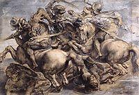 The Battle of Anghiari, 1503-1505, vinci