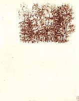 Birch copse, c.1500, vinci